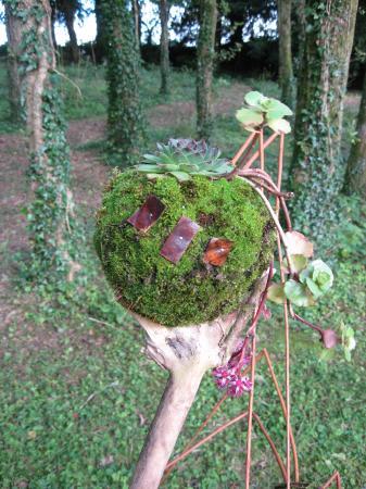 exposition d'art floral, créatrice Anna Marie Cadoudal