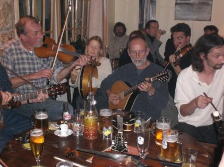 session de musique irlandaise 2007, 2008, 2009